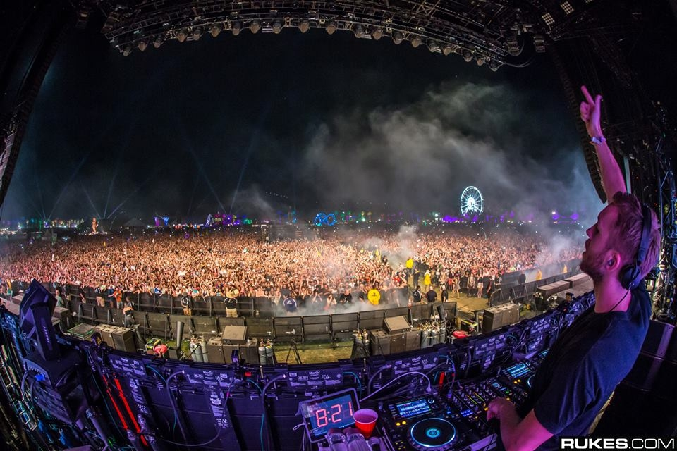 Calvin Harris Draws 2nd Largest Crowd In Coachella History