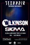 Technoir presents Wilkinson + SIGMA + Illegal Aliens