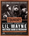 Lil Wayne with Method Man & Redman at The Foundry