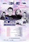 EDX | NO XCUSES vs. ENORMOUS TUNES TOUR