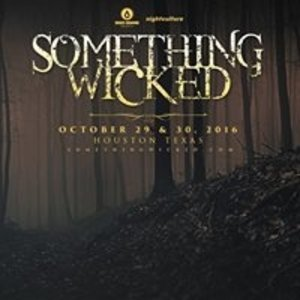 Something Wicked Festival 2016 - October 29th & 30th
