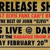 "Release Show of The Best of John ""Elvis"" Schroder"