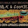 Milk & Cookies Sesame Street Fighters the epic battle