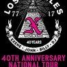X - 40th Anniversary at Underground Arts