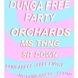 DUNGA Free Party #5 w/ Orchards // Green Door Store