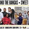 Tank and the Bangas + Sweet Crude at Brooklyn Bowl