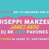 Guiseppi Marzelli, James Ando, DJ BK, Pavones & Diskode
