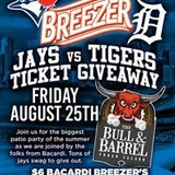 Jays vs Tigers Ticket Giveaway!