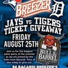Jays vs Tigers Ticket Giveaway!