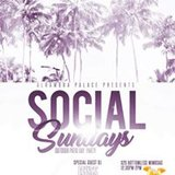 Social Sundays Outdoor Patio Day Party