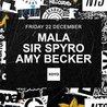 Mala, Sir Spyro and Amy Becker