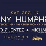 Tony Humphries at Halcyon
