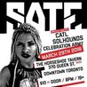 SATE w/ CATL, Solhounds, The Celebration Army at Horseshoe Tavern