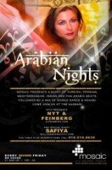 ARABIAN NIGHTS feat. DJ's NYT & Feinberg, Belly Dancing by Safiya and Ayperi!
