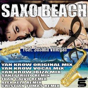 Saxo Beach Feat Susana Villegas Ep