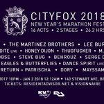 Dixon, Thugfucker, Lee Burridge, and Honey Dijon to Play Cityfox New Year's Eve