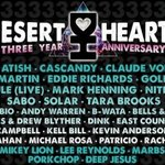 the GRIME: Desert Hearts 3 Year Anniversary Festival Lineup Announcement!!!!!!!!!