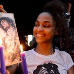 Prince remembered by fans across America – video
